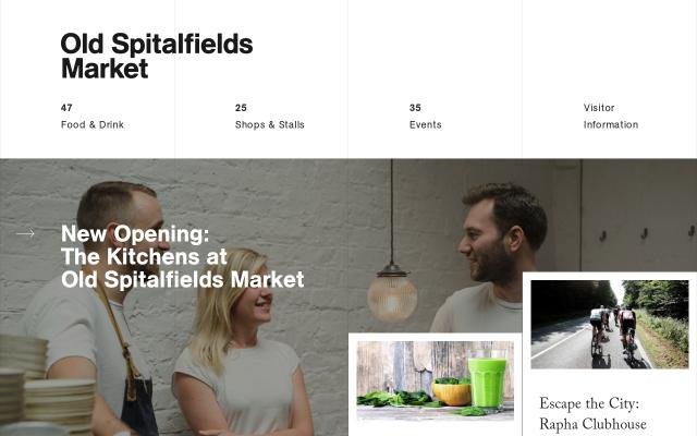 Screenshot of Oldspitalfieldsmarket