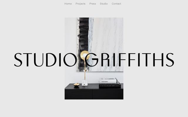 Screenshot of Studiogriffiths