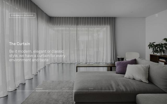 Screenshot of Chadwickdesigns