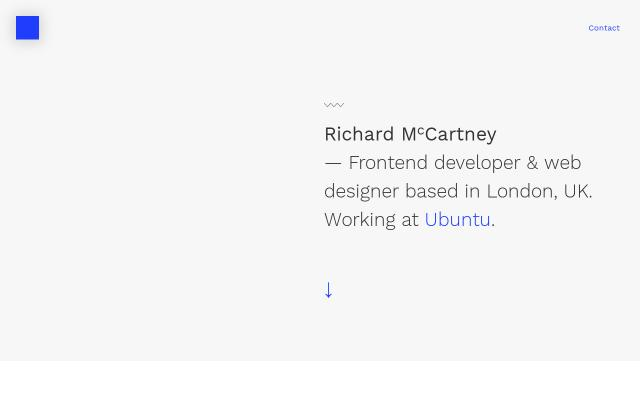 Screenshot of Richardmccartney