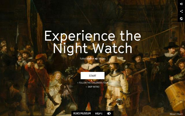Screenshot of Nightwatchexperience