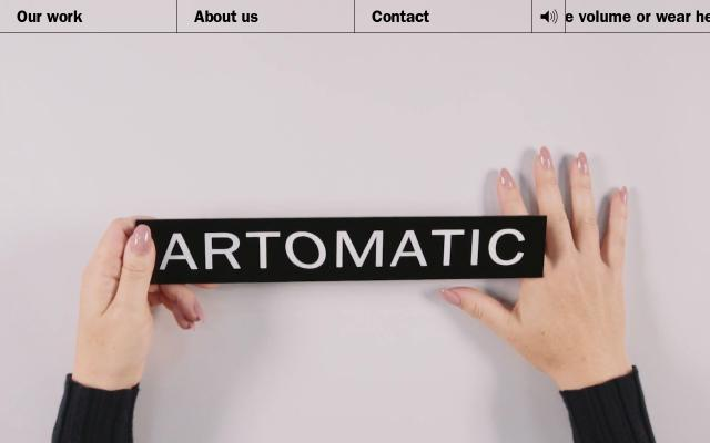 Screenshot of Artomatic