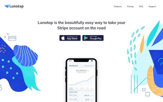 Screenshot of Lunatap
