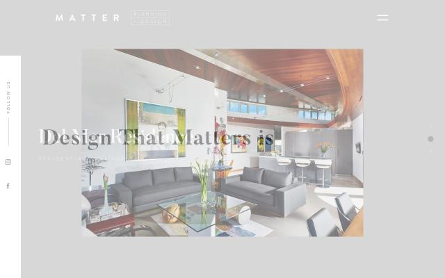 Screenshot of Matterinteriors