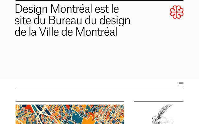 Screenshot of Designmontreal