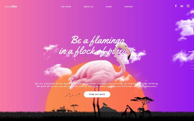 Screenshot of Brandaffair