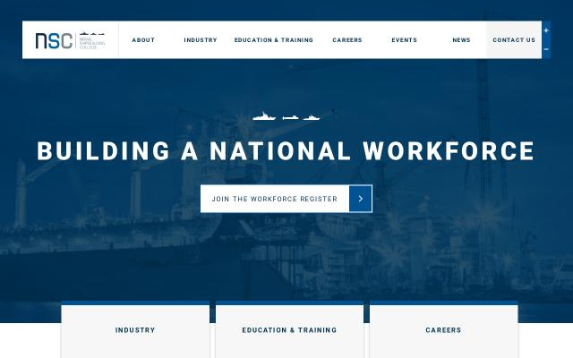 Screenshot of Navalshipbuildingcollege