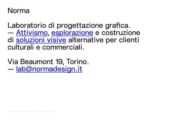 Screenshot of Normadesign