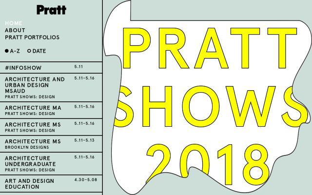 Screenshot of Prattshows