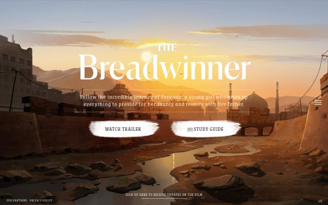 Screenshot of Thebreadwinner