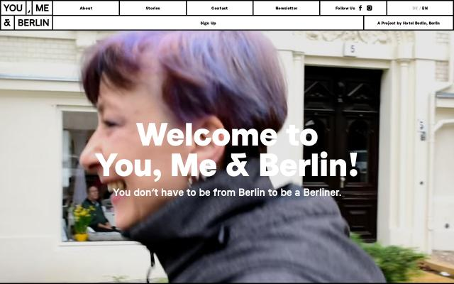Screenshot of Youmeandberlin