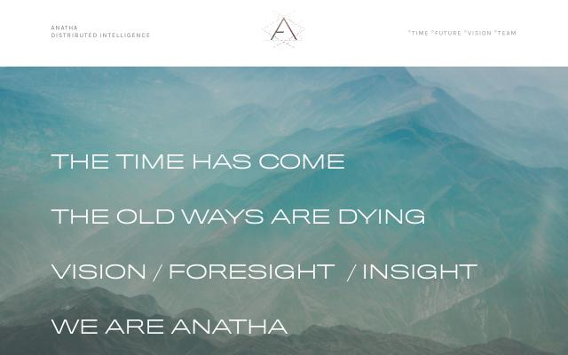 Screenshot of Anatha