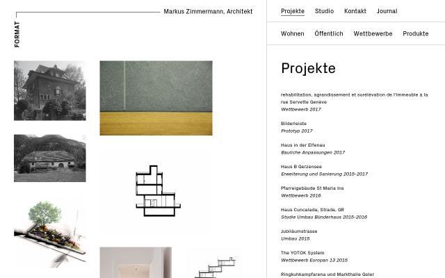 Screenshot of Studioformat