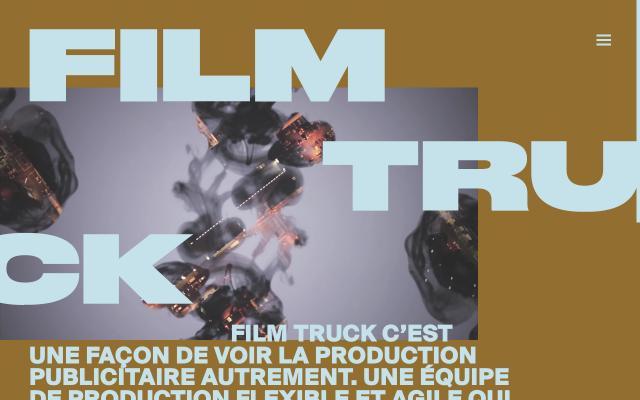 Screenshot of Filmtruck