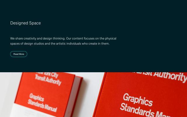Screenshot of Designed