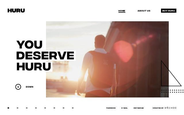 Screenshot of Huru