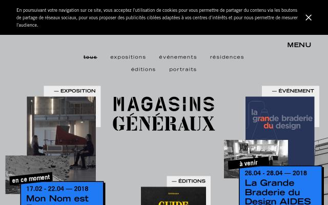 Screenshot of Magasinsgeneraux