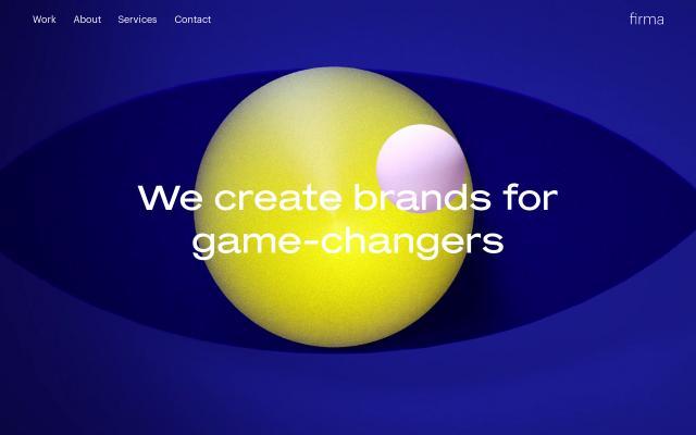 Screenshot of Wearefirma