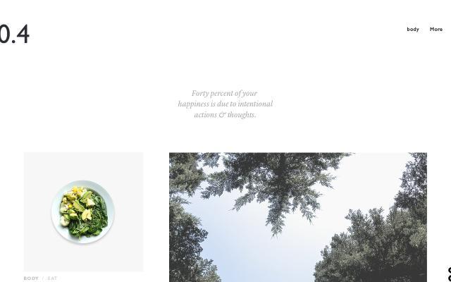 Screenshot of Pointfourmag