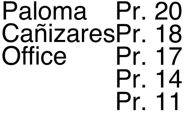 Screenshot of Palomacanizares