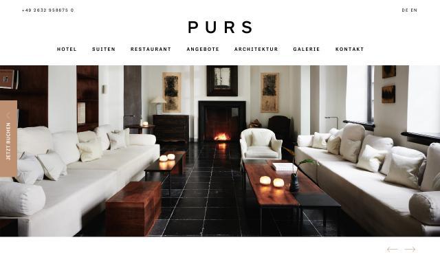 Screenshot of Purs