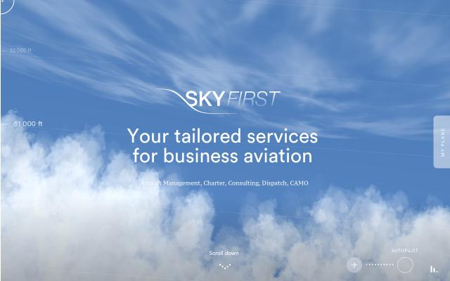 Screenshot of Skyfirst