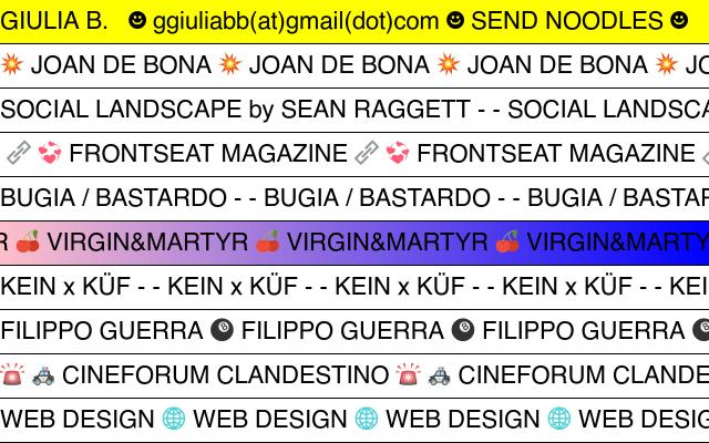 Screenshot of Giuliaboggio