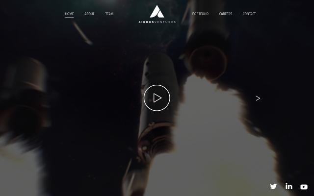 Screenshot of Airbusventures