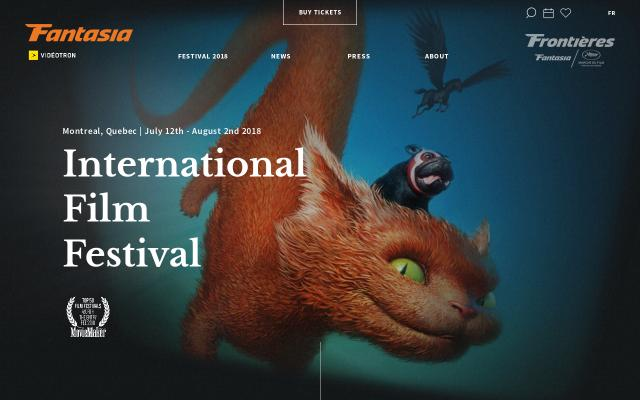 Screenshot of Fantasiafestival