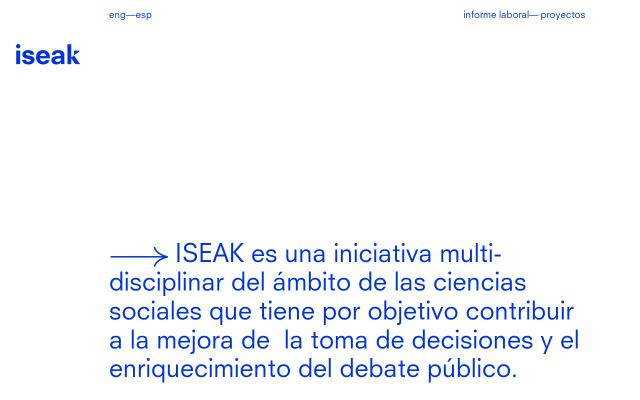 Screenshot of Iseak