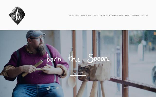 Screenshot of Barnthespoon
