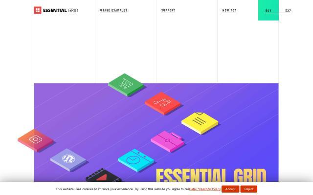 Screenshot of Themepunch