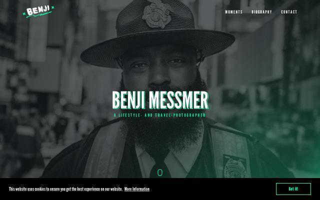 Screenshot of Benjimessmer