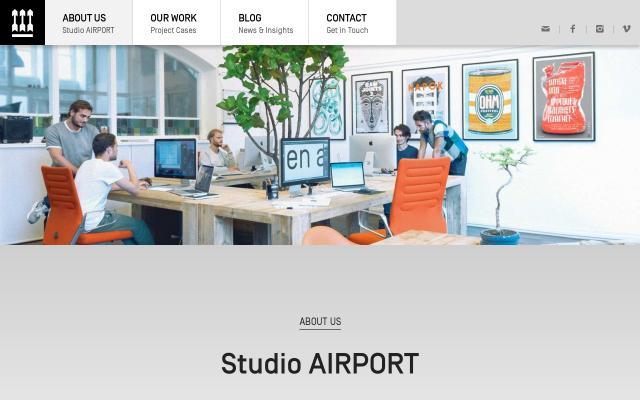 Screenshot of Studioairport