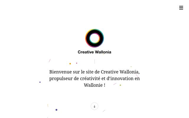Screenshot of Creativewallonia
