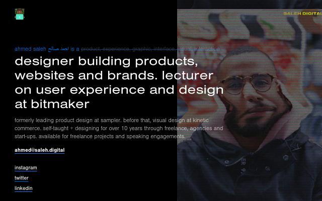 Screenshot of Saleh