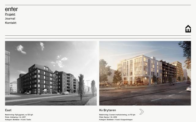 Screenshot of Enterarkitektur