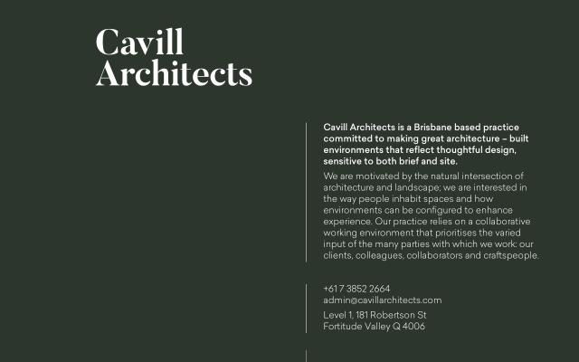 Screenshot of Cavillarchitects