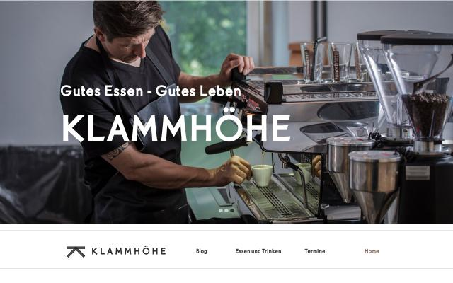 Screenshot of Klammhoehe
