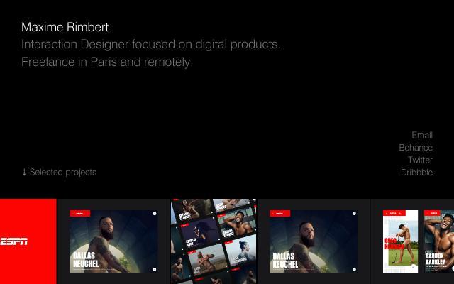 Screenshot of Maximerimbert