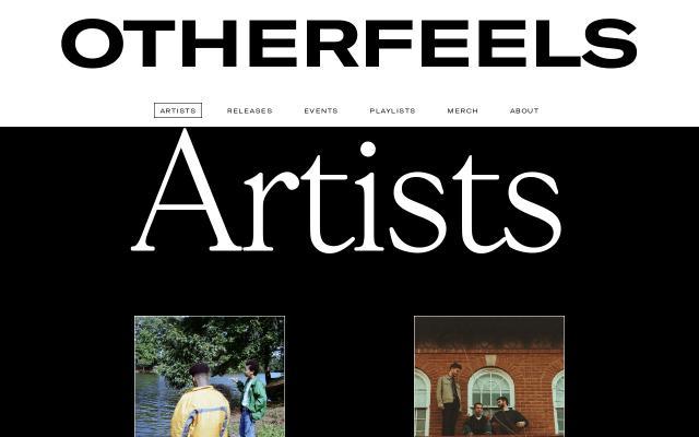 Screenshot of Otherfeels