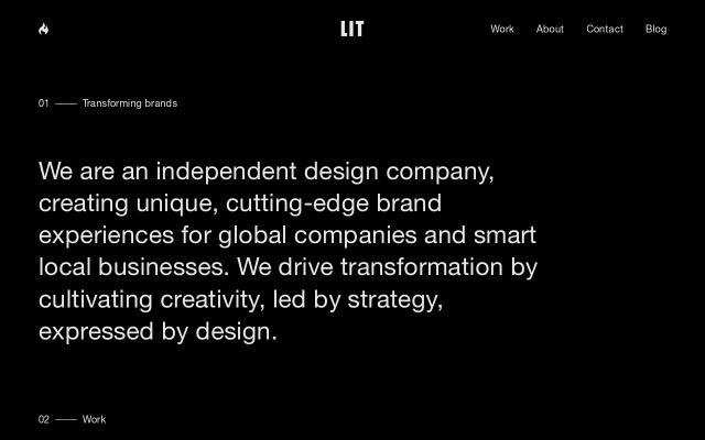 Screenshot of Litcreate