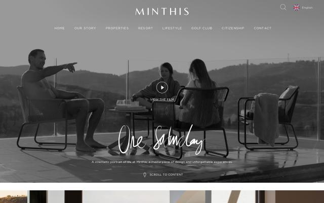 Screenshot of Minthisresort