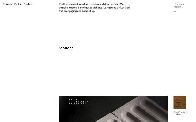 Screenshot of Restless