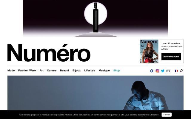 Screenshot of Numero