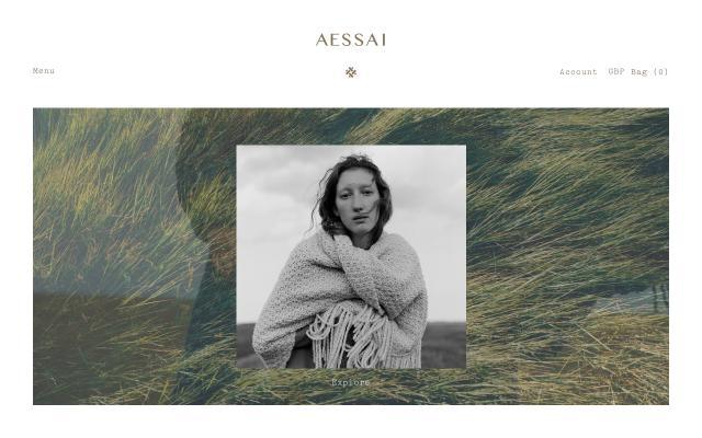 Screenshot of Aessai