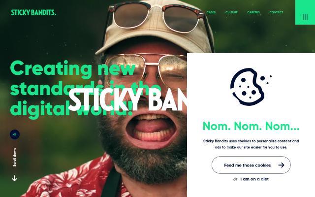 Screenshot of Stickybandits