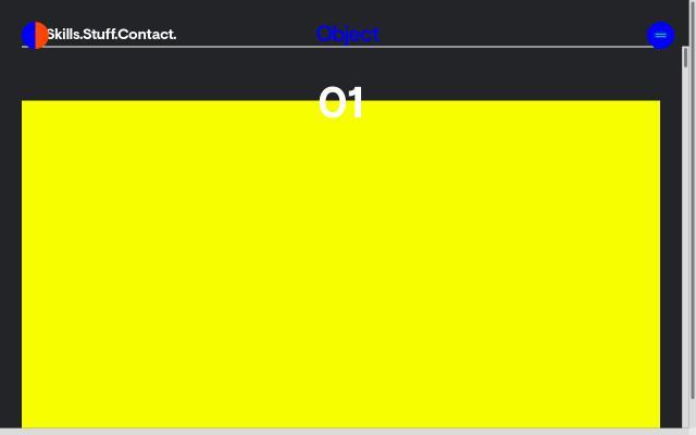 Screenshot of Object