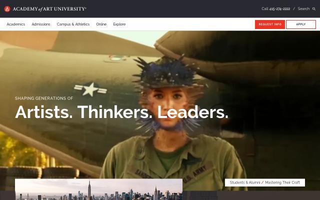 Screenshot of Academyart