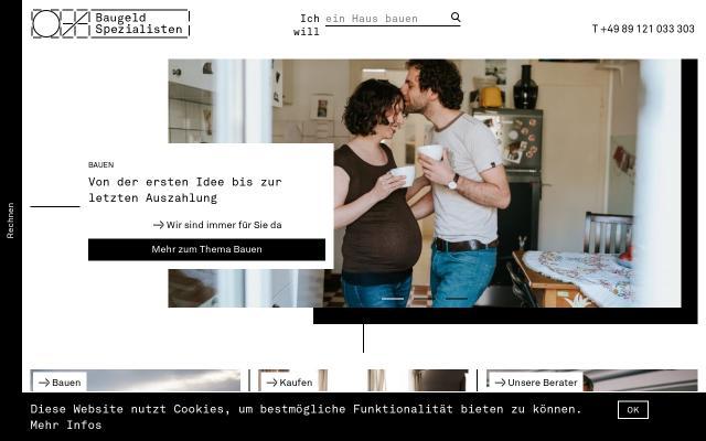 Screenshot of Baugeld-spezialisten